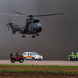 by Andre Oelofse - Transportation Helicopters