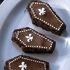 Martha Stewart's Almond Brownie Coffins