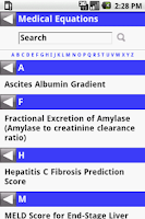 Screenshot of MedCalc 3000 G.I.