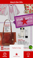Screenshot of Macy's Star Gifts