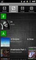 Screenshot of 4Lyrics