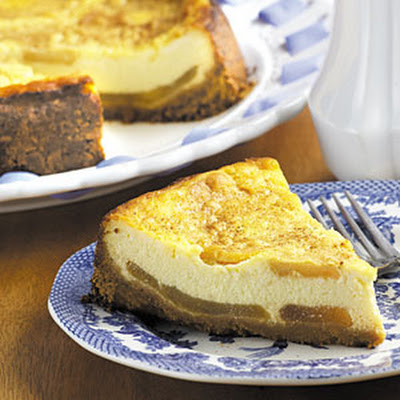 Harvest Apple Cheesecake