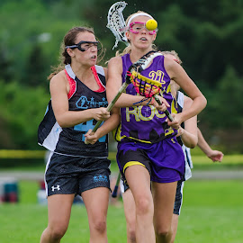 Battling for the ball by Keith Kijowski - Sports & Fitness Lacrosse