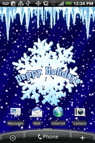 Happy Holidays Live Wallpaper