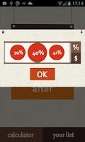 Screenshot of Discount Calc - Shopping Queen