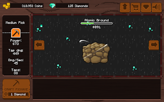 Screenshot of Pickaxe