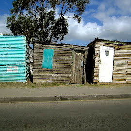 Homes in the Townships of South Africa by Tyrell Heaton - Buildings & Architecture Homes ( home, township, south africa )
