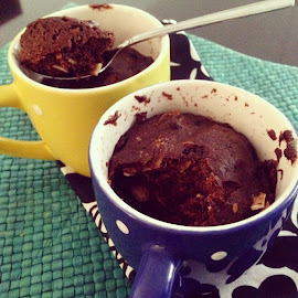 Homemade mugcake by Dewi Theo - Food & Drink Candy & Dessert