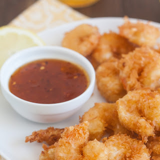 Coconut Shrimp with Sweet and Spicy Dipping Sauce