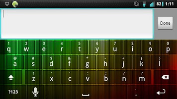 Screenshot of Marley Keyboard Skin