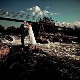 Adi & Roxy by Daniel Budau - Wedding Bride & Groom ( wedding photography, wedding, photographer, trash the dress, shooting )