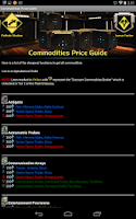 Screenshot of STO Guides