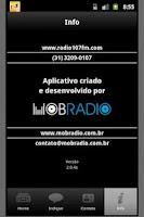 Screenshot of 107 FM
