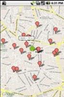 Screenshot of Buscador de cajeros Santander