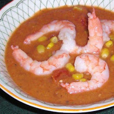 Florida Gazpacho With Shrimp
