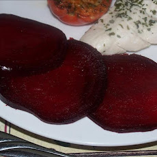 Basic Roasted Beetroot