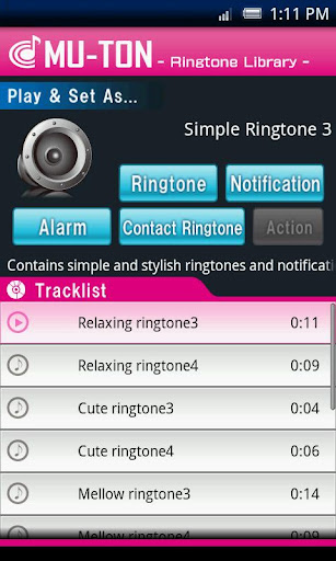 Simple Ringtone Library3