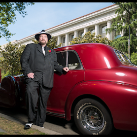 The Great Gatsby by Dirk Dreyer - People Portraits of Men ( m43, 1920, lumix, automobile, m43ftw, gx7, micro four thirds, mirrorless, panasonic, portrait )