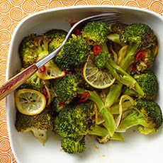 Hot & Sour Roasted Broccoli