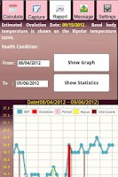 Screenshot of BodyTemp and Period Monitor
