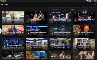 Screenshot of NBA GAME TIME