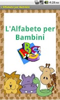 Screenshot of L'Alfabeto per Bambini