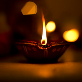 Enlighten by Dibyendu Banik - Novices Only Objects & Still Life ( diwali, festival, diya, light, enlighten )