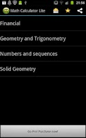 Screenshot of Math Calculator