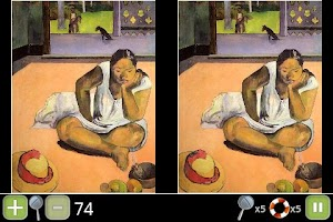 Screenshot of Gauguin/Paranoid Differences