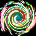 Glow Spin Art APK for Ubuntu