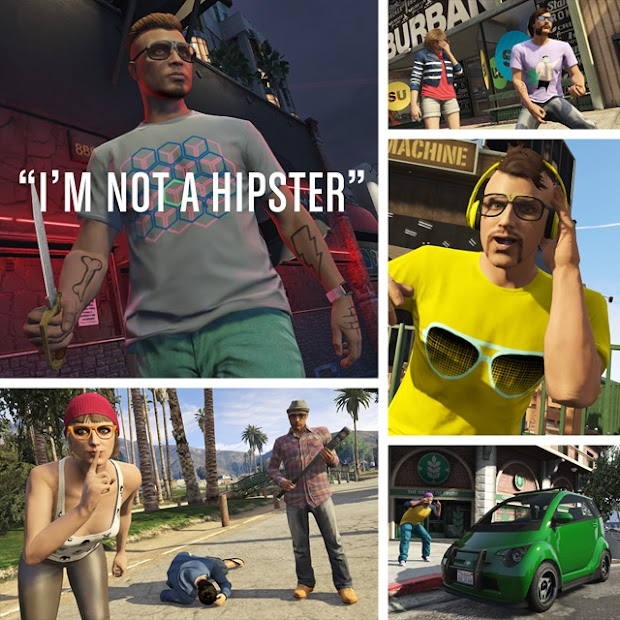 GTA Online I'm Not A Hipster update arrives today