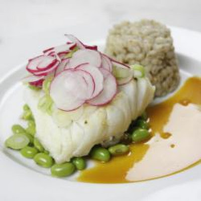 Cod In Soy-orange Reduction