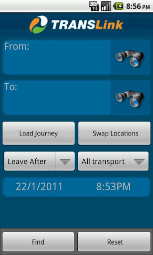 translink-qld-planner for android screenshot