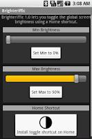 Screenshot of Brighteriffic