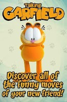Screenshot of Talking Garfield Free