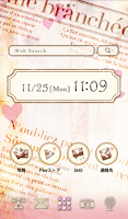 Screenshot of Cute wallpaper★sweet journal