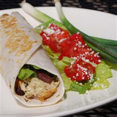 Zingy Pesto Tuna Wrap