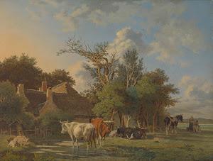 RIJKS: Jean François Valois: painting 1853