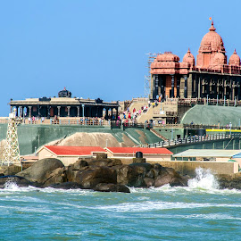 VIVEKANANDA MEMORIAL, KANYAKUMARI, INDIA by Neelakantan Iyer - Buildings & Architecture Statues & Monuments