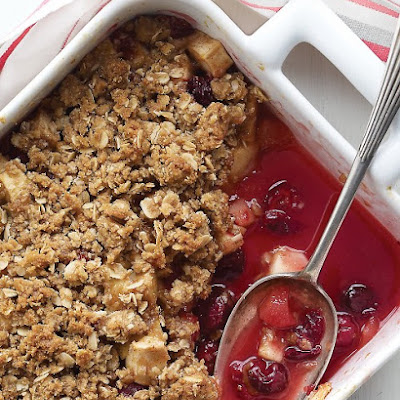 Emeril's Apple and Cranberry Crisp