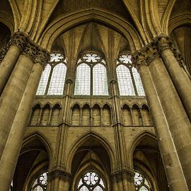 Notre Dame de Reims by Antonello Madau - Buildings & Architecture Architectural Detail
