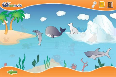 Sea Animals + Numbers for kids