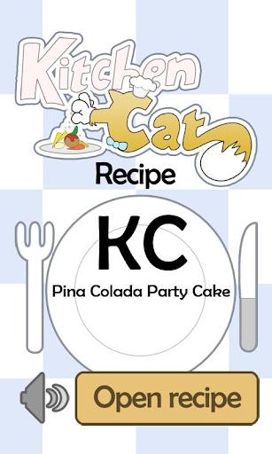 KC Pina Colada Party Cake