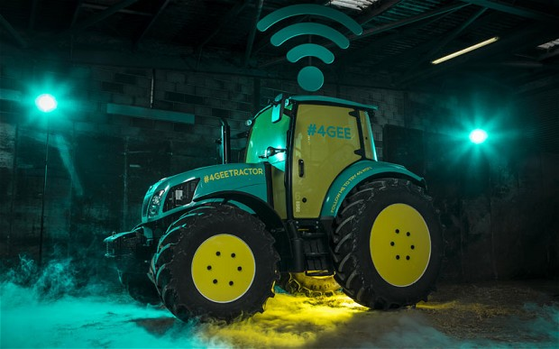#4gee tractor