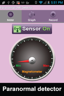 Paranormal EMF Detector - screenshot