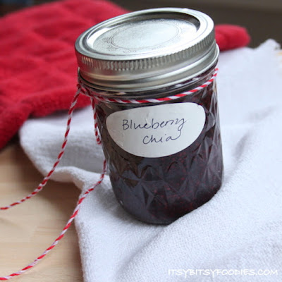 Blueberry Chia Seed Freezer Jam