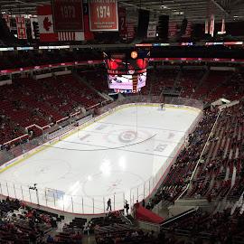 Hockey Arena. by Laddawan Donohue - Sports & Fitness Ice hockey ( hockey arena. )