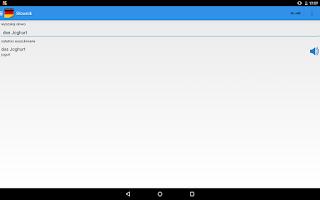 Screenshot of Ucz się języka Niemieckiego