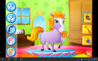 Screenshot of Sara's Pretty Pet Parlour Free