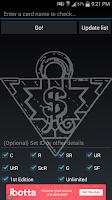 Screenshot of YuGiOh Price Check